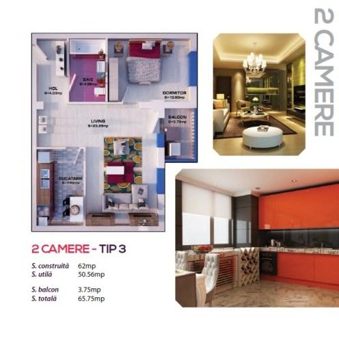 2 Camere - tip 3