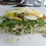 The Brasserie Spring Vegetable Risotto