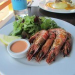 The Brasserie Grilled Large Prawns