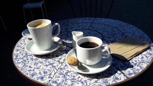 Hitchin Lavender Tea Room Coffee