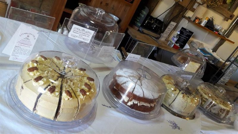Hitchin Lavender Tea Room Cakes