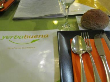 Yerbabuena Table Setting