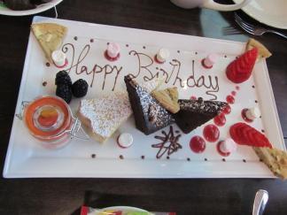 Axis Birthday Platter