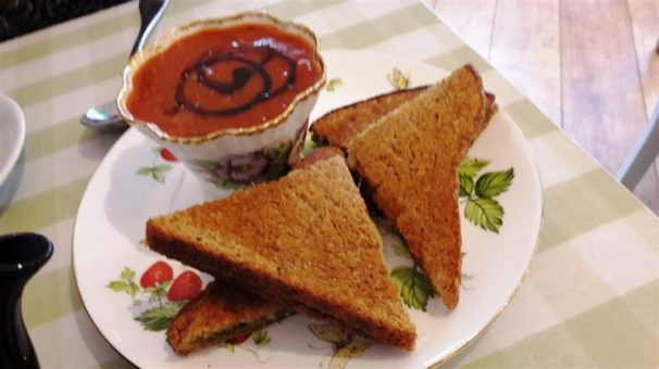 Jeanette's Cakery Toastie and Soup