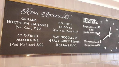 Rosa's Recommends Board