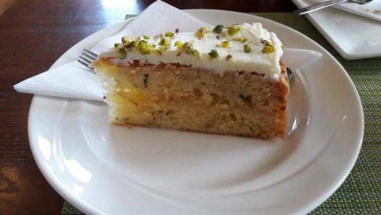 Tea on the Green Cake