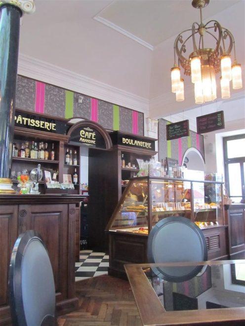 Cafe Amandine Interior