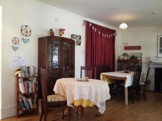 Castle Cottage Tearoom Interior