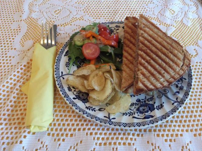 Castle Cottage Tearoom Toasted Sandwich