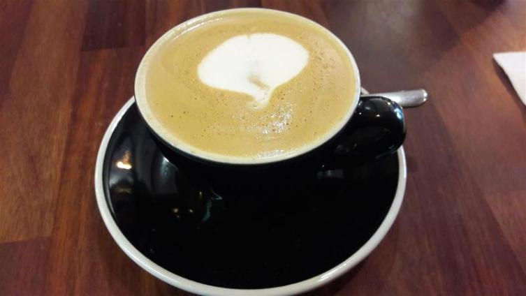 The Travel Cafe Flat White