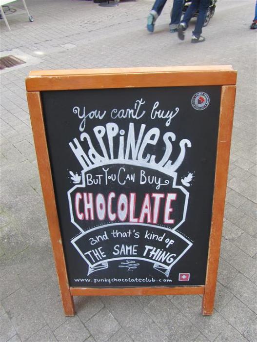 Funky Chocolate Club Motto