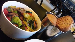 Lille Opera Brasserie Wok Fried Seasonal Vegetables