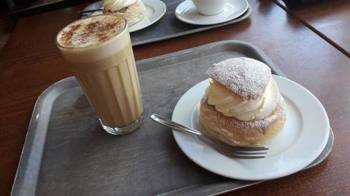 Aso Semla and Chai Latte