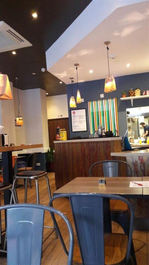 Gilly's Fry Bar Interior