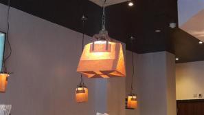 Gilly's Fry Bar Lighting
