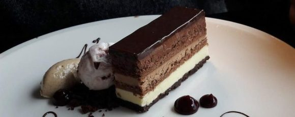 Pier Eight Chocolate Gateau
