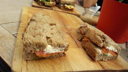 Oliver's Village Cafe Sandwiches