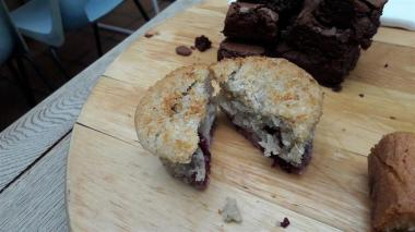 Oliver's Village Cafe Vegan Muffin