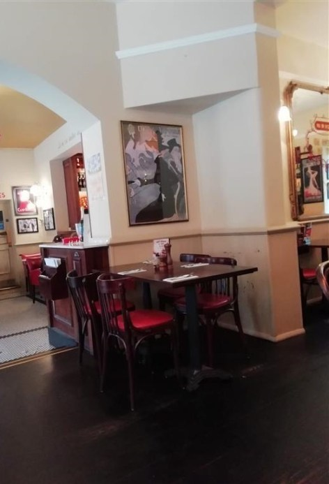 Cafe Rouge Interior