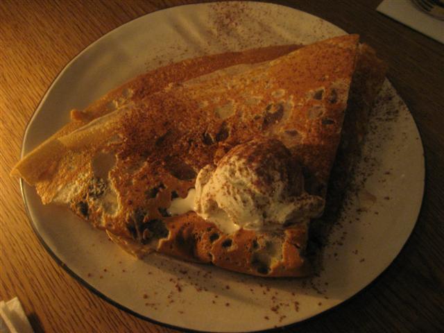 A La Crepe Dessert Crepe