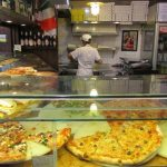 Antico Forno Pizza Counter