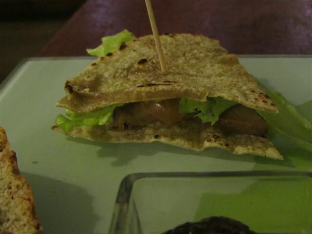 Amico Bio Vegetarian Club Sandwich