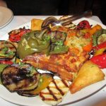 Andy's Taverna Vegetable Platter