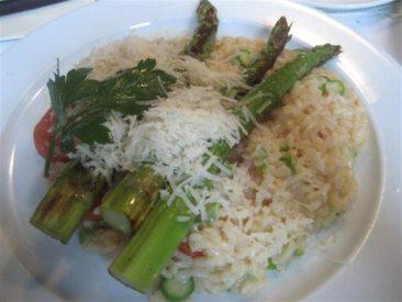 Bakfickan Asparagus Risotto