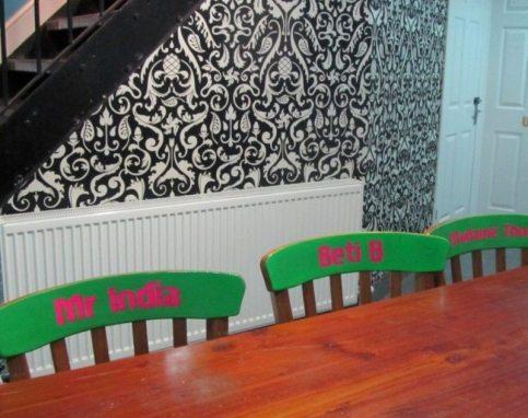 Bombay Burrito Interior 2