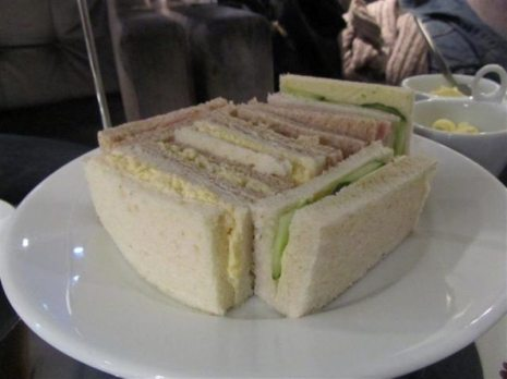 Mercure Brasserie Finger Sandwiches