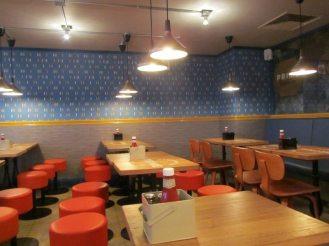 Prime Burger Interior