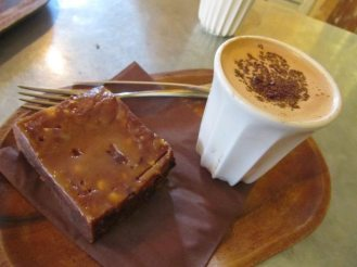 Rabot 1745 Drinking Chocolate and Caramel Brownie