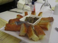 Foccacia and Olive Tapanade