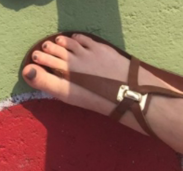 Would You Suck My Toes
