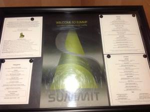 Summit Broadmoor menu