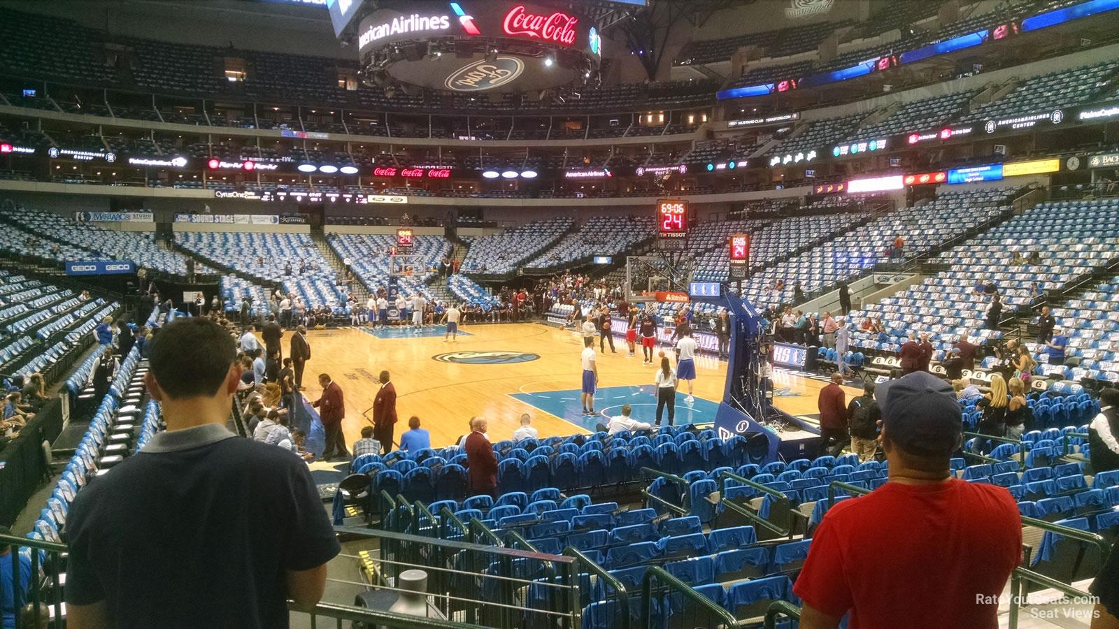 Aa Seating Arena Chart Dallas