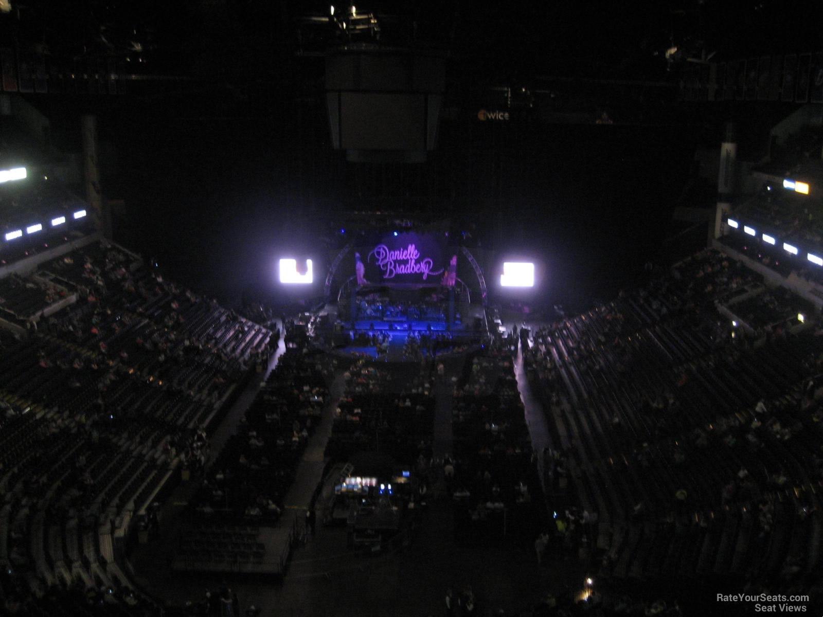 Numbers Bridgestone Chart Seat Arena Seating
