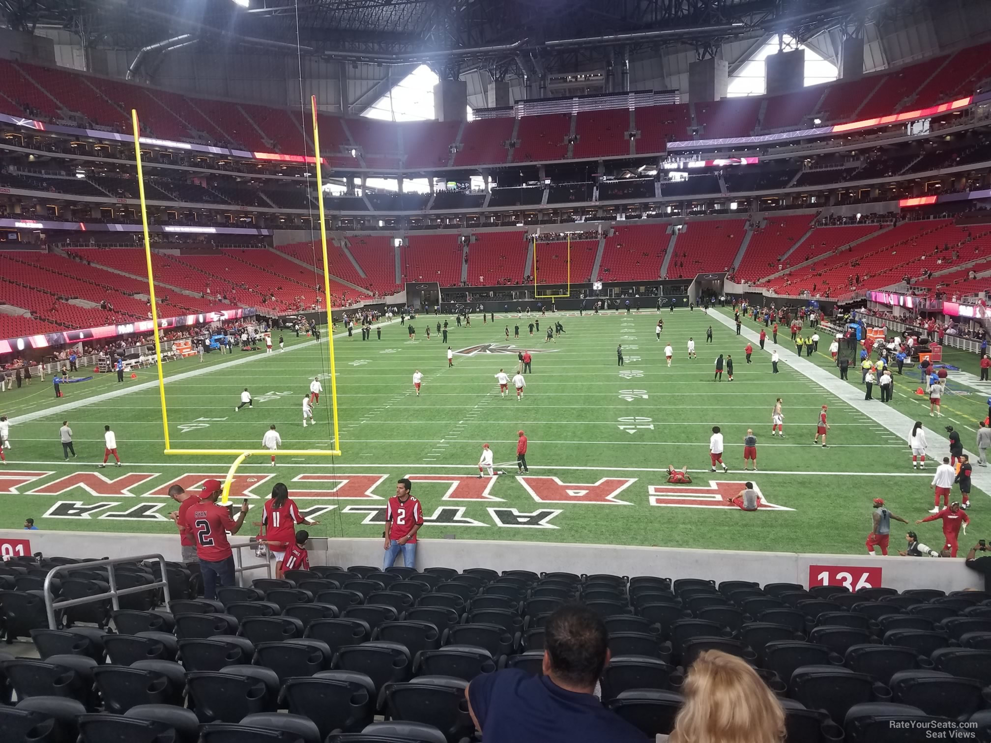 Mercedes Benz Stadium Atlanta Virtual Seating Chart