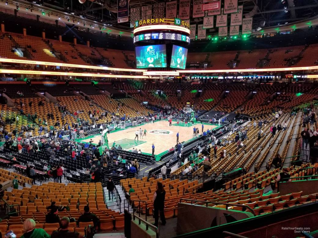 Boston Celtics Seating Chart With Rows | Review Home Decor