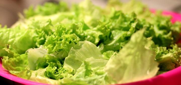 Welken Salat Auffrischen