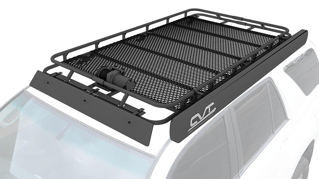 custom gobi style roof rack toyota
