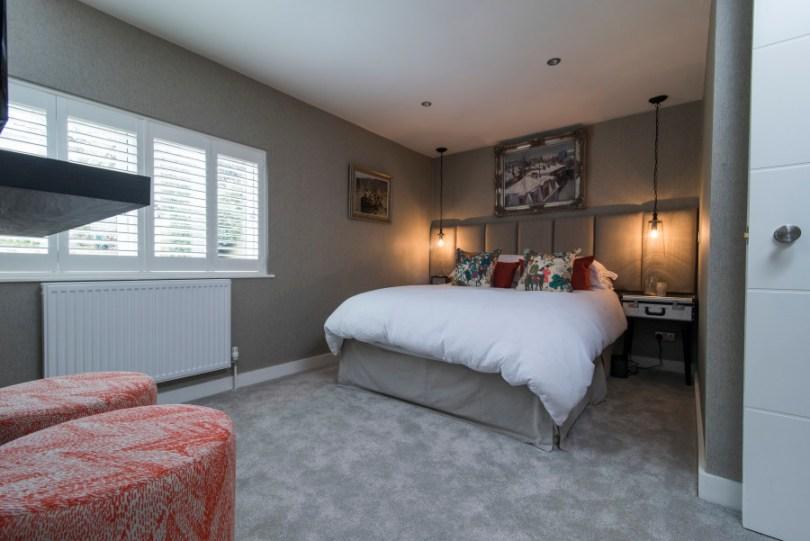 Interior designed bachelor bedroom