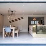 Sliding doors, open plan living