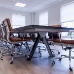 Impressive boardroom setup