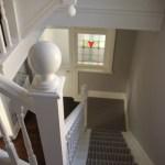 Impressive staircase in Bath home
