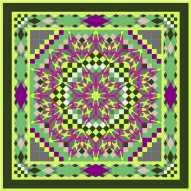 Neb green purple
