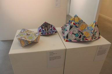 GRAPE SODA Colourway Fabric Cyclic Tetrahedrons - my TETRASPINNERS