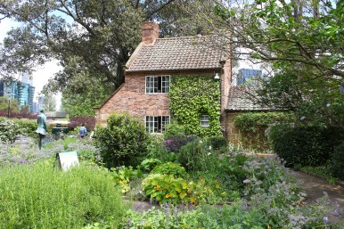 Cook's cottage and garden