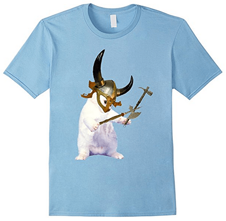 Buy an amazing Viking Kittens T-shirt from Amazon!