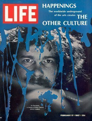LIFE cover 02-17-1967 New York counter culture leader Ed Sanders.